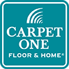 carpet one teal logo